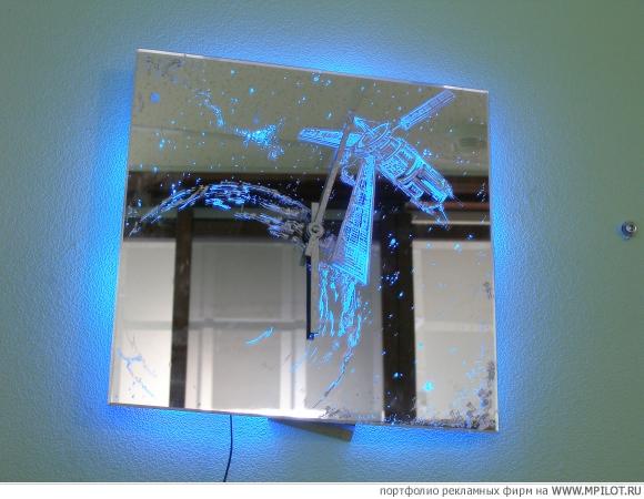 Своими руками подсветку для стеклянной картины